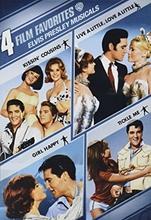 Picture of 4 Film Favorites: Elvis Presley Musicals (Kissin' Cousins / Live a Little Love a Little / Girl Happy / Tickle Me)