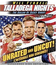 Picture of Talladega Nights: The Ballad of Ricky Bobby (Unrated and Uncut) [Blu-ray] (Bilingual)