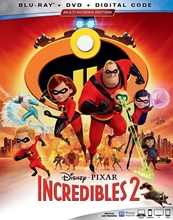 Picture of INCREDIBLES 2 [2BD+DVD+DIGITAL CODE]