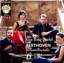 Picture of Beethoven: The Complete String Quartets Vol.6 by Elias String Quartet