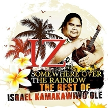 Picture of SOMEWHERE OVER THE RAINBOW by KAMAKAWIWO'OLE ISRAEL