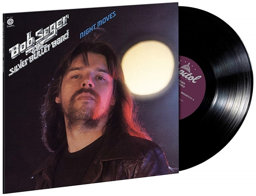 Picture of NIGHT MOVES(LP) by SEGER,BOB & THE SILVER BUL