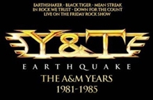 Picture of EARTHQUAKE THE A&M YEA(4CD by Y&T