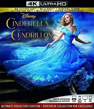 Picture of Cinderella (Live Action) [UHD+Blu-ray+Digital]