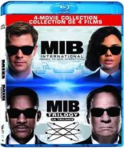 Picture of Men in Black (1997) / Men in Black 3 / Men in Black II / Men in Black: International (Bilingual) [Blu-ray+Digital]
