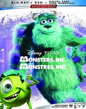 Picture of Monsters Inc [Blu-ray+DVD+Digital]