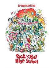 Picture of Rock 'n' Roll High School (Limited Edition Steelbook) [Blu-ray]
