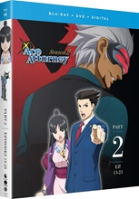 Picture of Ace Attorney: Season 2 Part 2 [Blu-ray+ DVD+Digital]