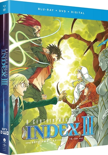 Picture of A Certain Magical Index III: Season Three - Part Two [Blu-ray+DVD+Digital]