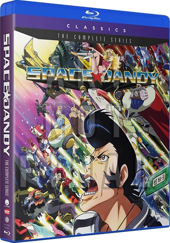 Picture of Space Dandy: The Complete Series [Blu-ray+Digital]