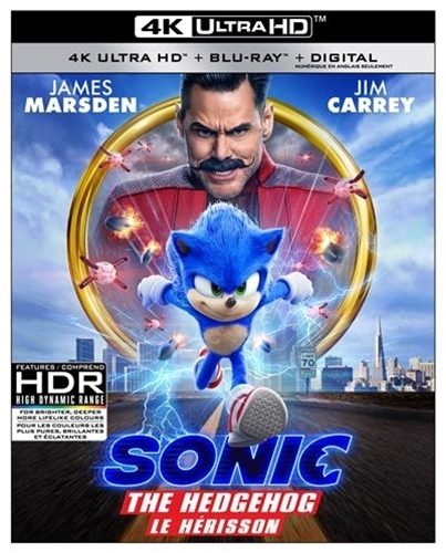 Picture of Sonic The Hedgehog [Blu-ray+DVD+Digital] - copy