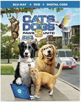 Picture of Cats & Dogs 3: Paws Unite! (Bilingual) [Blu-ray+DVD+Digital]