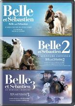Picture of Belle et Sebastien collection de 3 films (Belle and Sebastian 3-Film Collection) (Version française) [DVD]