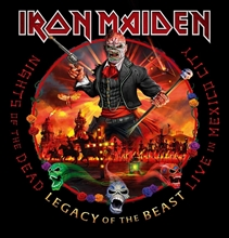 Picture of Nights Of The Dead, Legacy Of The Beast, Live In Mexico City (DELUXE Version) by IRON MAIDEN [2CD]