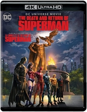 Picture of The Death and Return of Superman (Bilingual) [UHD+Blu-ray+Digital