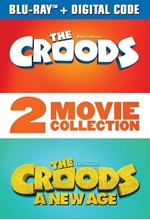 Picture of The Croods: 2-Movie Collection [Blu-ray+Digital]