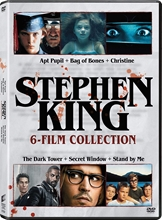 Picture of Apt Pupil, The / Secret Window / Bag of Bones (Mini-Series) / Christine (1983) / Dark Tower (2017) / Stand by Me (Multi-feature) [DVD]