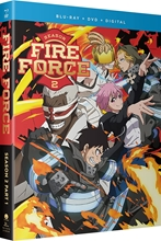 Picture of Fire Force - Season 2 Part 1 [Blu-ray+DVD+Digital]