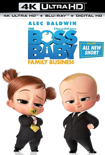 Picture of The Boss Baby: Family Business [UHD+Blu-ray+Digital]
