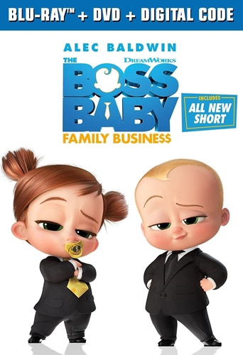 Picture of The Boss Baby: Family Business [Blu-ray+DVD+Digital]