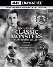 Picture of Universal Classic Monsters Icons of Horror Collection [UHD]