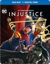 Picture of Injustice (Steelbook) [Blu-ray]