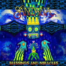 Picture of Blessings and Miracles by SANTANA [CD]