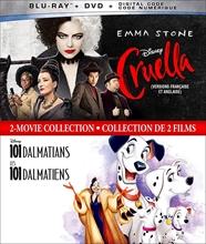 Picture of Cruella (2021) & 101 Dalmations [Blu-ray+DVD]
